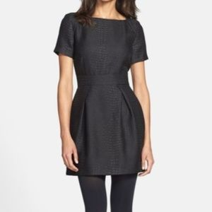 3/$50 🎄 French Connection Jacquard Black Dress
